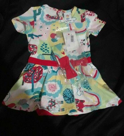 Vestido zig zig zaa pra princesa tamanho 3 - Foto 4