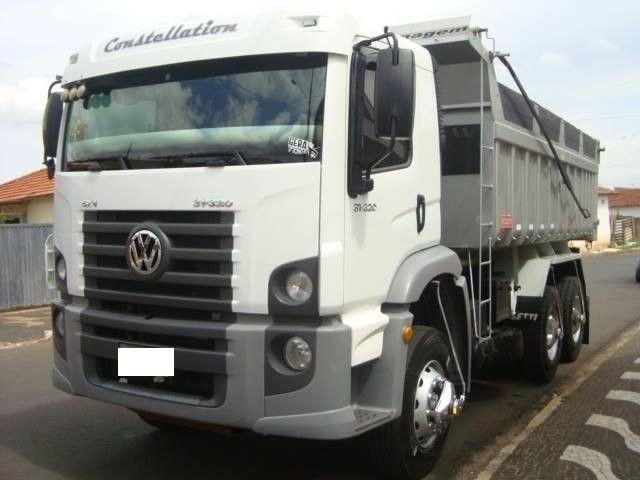 Caminhão Vw 31-320 6X4 Caçamba 2010