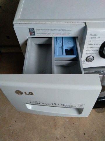 Máquina Lava e Seca LG Direct drive 8.5 4kg - Foto 2