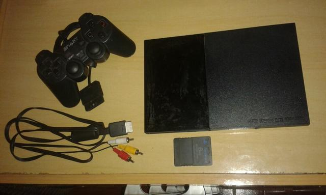 Ps2 slim roda ps1 leia