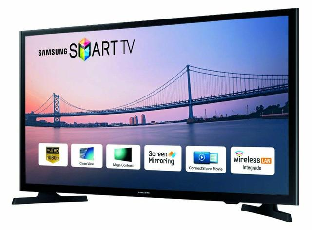 Smart tv samsung 48 pol. na caixa