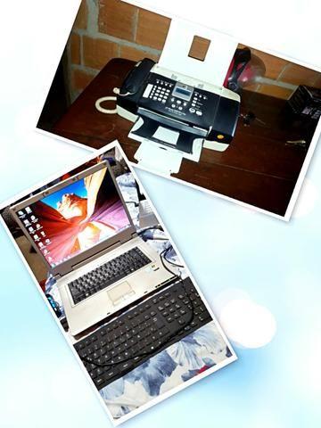 Notbook e impressora