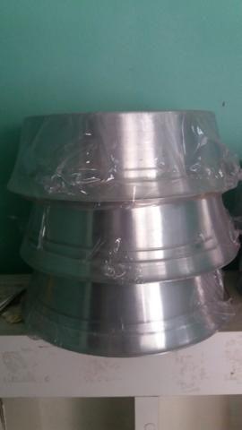 Vendo Comedouros Alumínio novos!