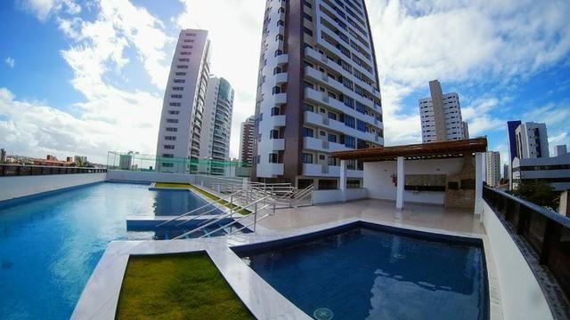 Apartamento Novo no Residencial Ariano Suassuna em Lagoa Nova 110m²