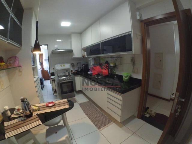 Apartamento 3 quartos em Jardim Camburi com 4 vagas, montado e decorado - Foto 7