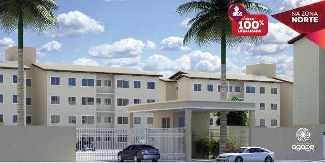 Apartamento na zona Norte - Condomínio Ágape Norte - Tel. 9 9829 1012
