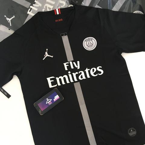 ec51ba863 Camisa psg jordan preta - Roupas e calçados - Coelho Neto