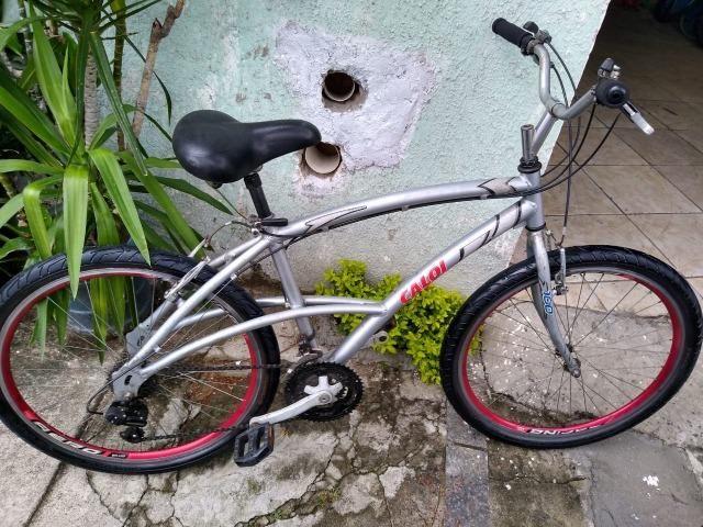 d263ea2bb Bicicleta caloi 100 aluminium aro 26 21v - Ciclismo - Vila Galvão ...