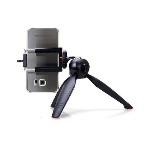 Mini Tripé Monopod Articulado Yunteng YT-228 para Câmera Celular + Brinde Suporte par - Foto 6