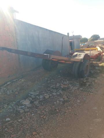 Carretao agrícola 6.10 metros penel duplo - Foto 4