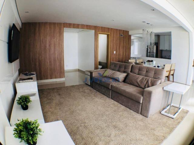 Apartamento com 3 suítes à venda, 117 m² por r$ 620.000 - jardim goiás - goiânia/go - Foto 5
