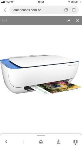 Impressora Multifuncional HP Deskejet Ink Advantage 3636 Wi-Fi - Foto 6