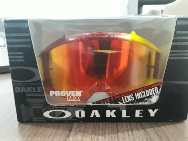 Óculos Oakley Original Espelhado com lente Extra