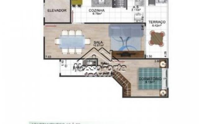 Lançamento Apartamento de frente para o mar no Jardim Real em Praia Grande - Foto 7