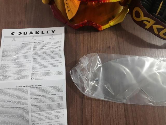 Óculos Oakley Original Espelhado com lente Extra - Foto 2