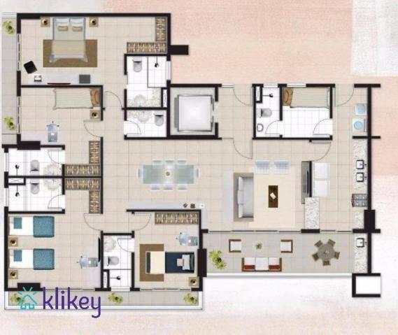 Apartamento à venda com 3 dormitórios em Meireles, Fortaleza cod:7987 - Foto 5