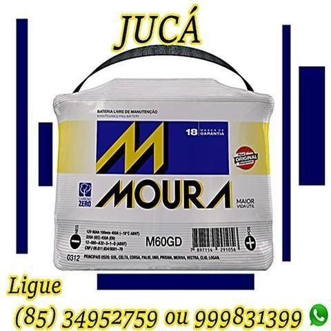 Super promoção de Bateria Moura 60 ah