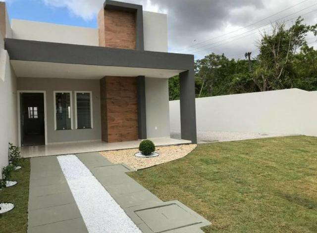 Casa com TERRENO GIGANTE !! No bairro Pedras Fone Casa (85) 99619 6009 - Foto 4