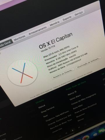 Apple iMac tela de 21 - Foto 4
