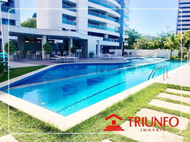 (EA) apartamento a venda no Guararapes com 145 metros- 3 quartos 3 vagas - Foto 4