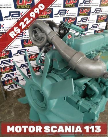Motor Scania 113 Baixado - Base de troca- com NF