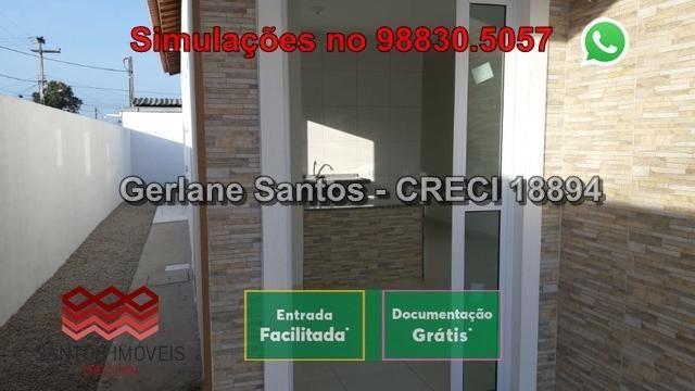 Casa de Esquina com Escritura Grátis, 02 Quartos, 02 Wc, Garagem e Quintal - Foto 4