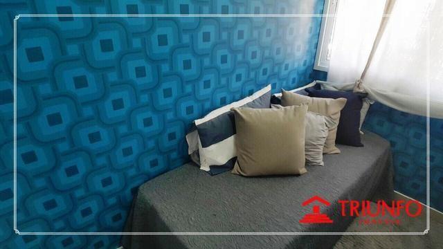 (MRA) TR20905-Super Ofeta, A 100m da Beira Mar, Apartamento 47m², 2 Quartos, 1 Vaga - Foto 3