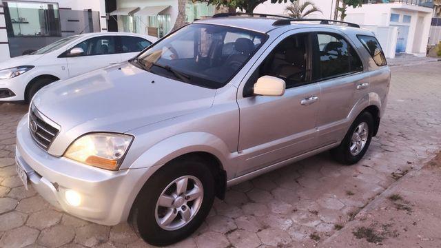 Sorento 2008, prata 2.5 cr3 4x4 aut. diesel