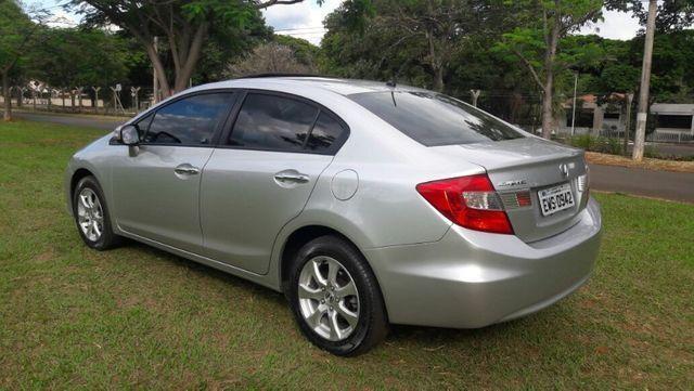 Honda Civic EXS Automatico Top de Linha + Teto Solar 2012 - Foto 4