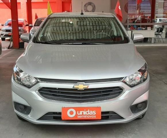 Prisma Lt 1.4 2019 Prata 30mil kms - Financia sem entrada - aceita carro na troca - Foto 9