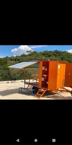 Container refeitório com dois banheiros  - Foto 4