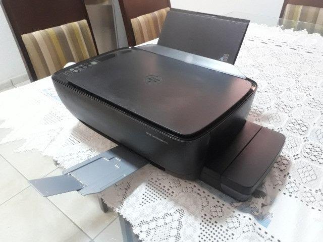 Impressora Multifuncional HP Ink Tank Wireless 416 com wifi 110V/220V preta - Foto 3