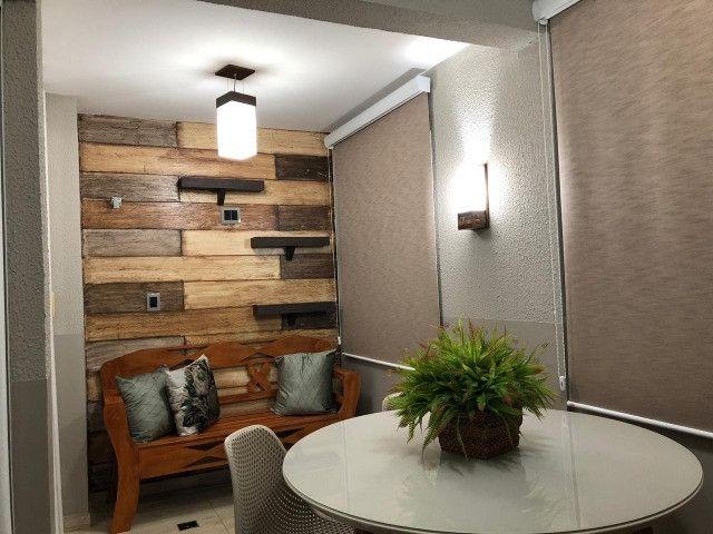 Apartamento 3 quartos todo mobiliado próximo ao lago aratimbó em Umuarama/Pr - Foto 17
