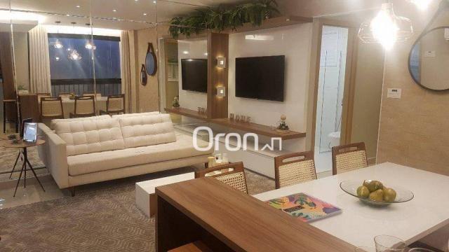 Apartamento com 2 dormitórios à venda, 62 m² por R$ 278.000,00 - Aeroviário - Goiânia/GO
