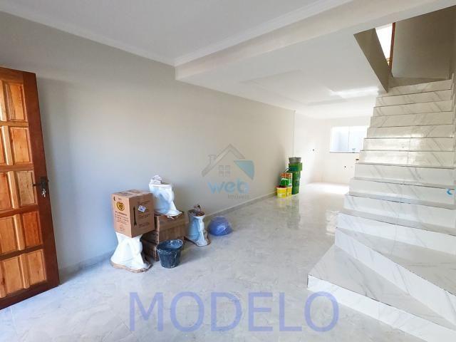 Sobrado à venda com 2 quartos, 72,99 m², terraço, próximo ao Santuário da Divina Misericór - Foto 5