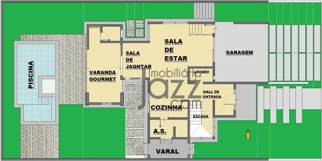 Casa com 3 dormitórios à venda, 266 m² por R$ 1.550.001,00 - Terras de São Carlos - Jundia - Foto 4