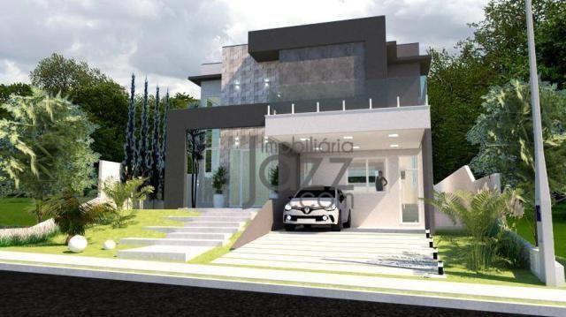 Casa com 3 dormitórios à venda, 266 m² por R$ 1.550.001,00 - Terras de São Carlos - Jundia