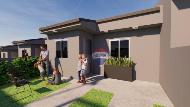 Casa com 2 dormitórios à venda, 50 m² por R$ 128.000,00 - Aparecida - Alvorada/RS - Foto 3