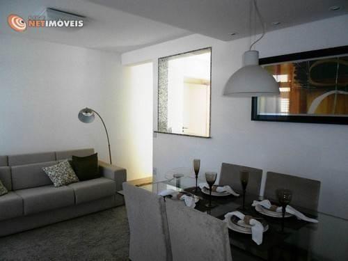 Apartamento à venda com 3 dormitórios em Conjunto califórnia, Belo horizonte cod:577949 - Foto 4