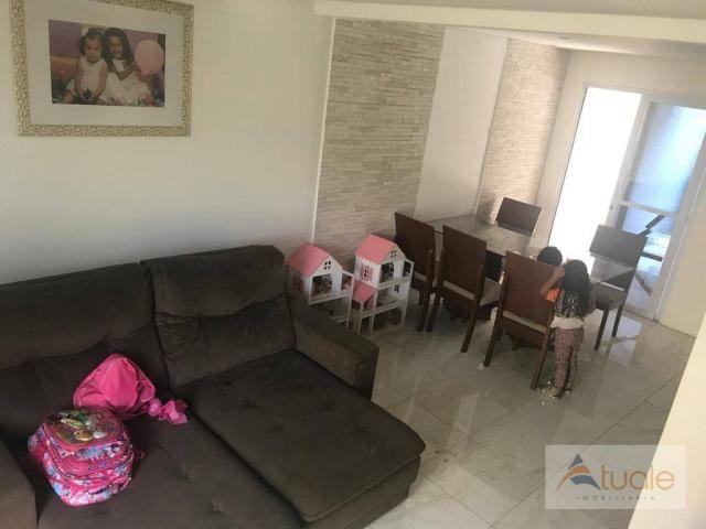 Casa com 2 dormitórios à venda, 75 m² por R$ 310.000 - Villa Flora Hortolandia - Hortolând - Foto 8