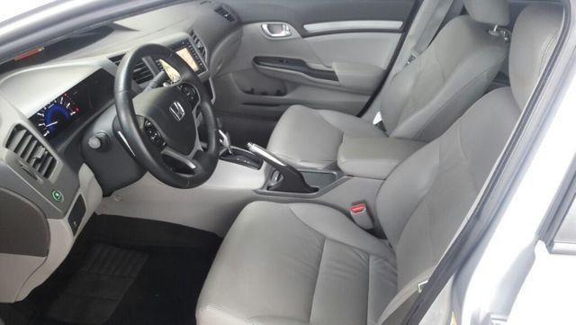 Honda Civic EXS Automatico Top de Linha + Teto Solar 2012 - Foto 9