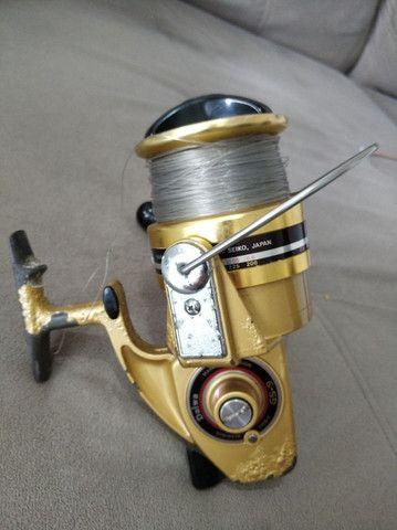 Molinete Daiwa GS 9 Gold ( usado). - Foto 6