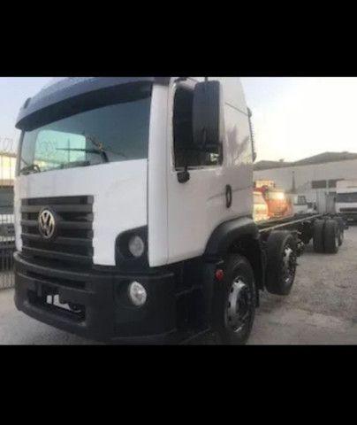 Vw 24250 Cabine Leito Bi Truck 4o Eixo Direcional<br><br>