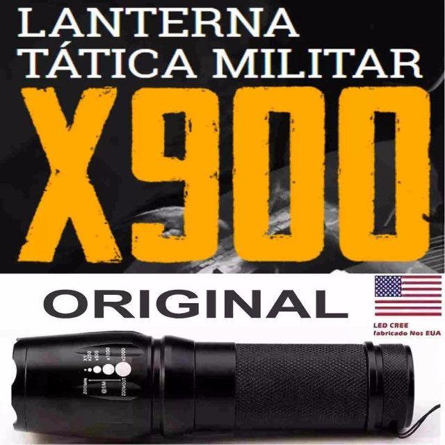 Lanterna Tática Militar Original X900 128000w LED T6 - Imperium Informatica