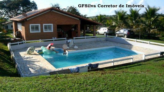 Chácara 30.000 m2 Casa 4 dorm. , suite, Píscina , fácil acesso Ref. 424 Silva Corretor