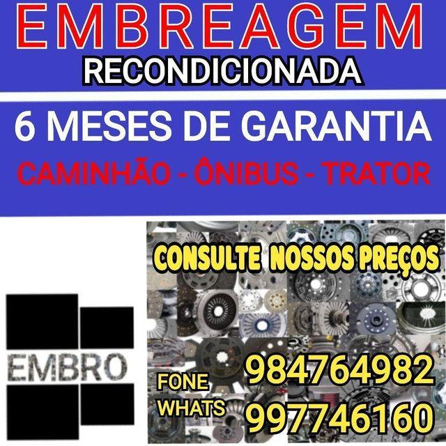 EMBREAGEM CAMINHÃO MERCEDES BENS, PLATO 430MM  - Foto 5