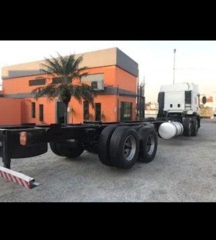 Vw 24250 Cabine Leito Bi Truck 4o Eixo Direcional<br><br> - Foto 5