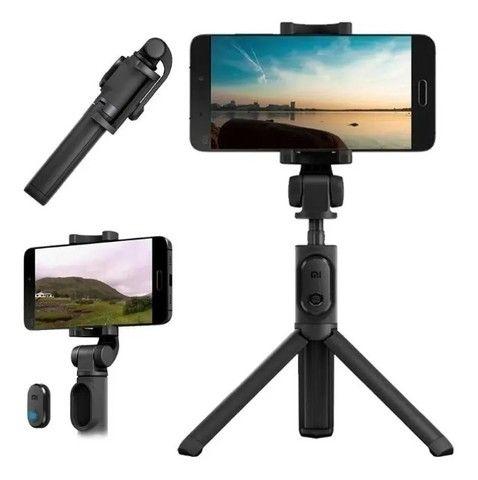 Bastão Tripé Mini 360º Pau De Selfie Bluetooth 3em 1 Celular - Foto 3