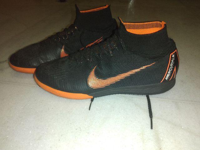 Chuteira Nike Mercurial Futsal Elite - Foto 4
