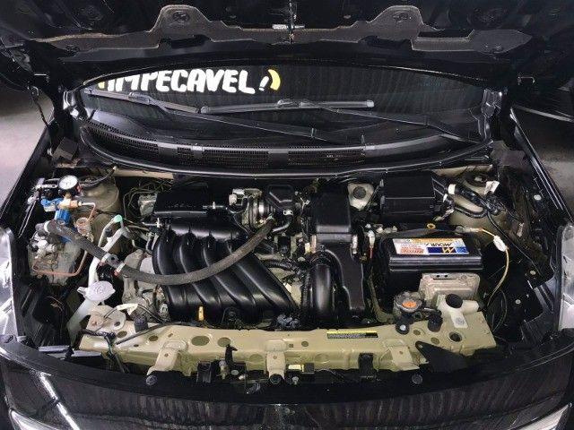 Nissan Versa 1.6 SV 2018 Automático com GNV - Foto 12